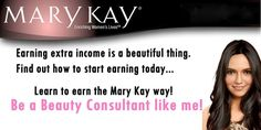 Would you like to earn extra income and still be able to spend time with your family and do the things you love? Then why not consider becoming a Mary Kay Independant Beauty Consultant. Nothing is stopping you.  Email me today: dtryon@marykay.com to find out how you can start your own business today.