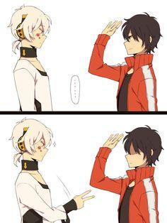 Konoha and Shintaro