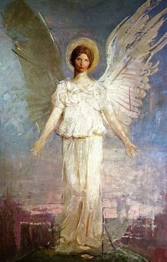 1920 Abbott Handerson Thayer (American; 1849-1921) ~ 'Noon'