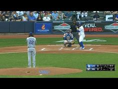 Clayton Kershaw strikes out Jonathan Villar to record his career strikeout, becoming the fastest pitcher in NL history to do so Check out htt. Clayton Kershaw, Mlb Teams, Los Angeles Dodgers, World Series, Baseball Field, History, Youtube, Life, Historia