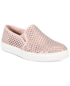 Material Girl Eidyth Slip-On Embellished Sneakers, Only at Macy's - Pink 11M