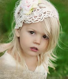 Adorable clothes and headbands for little girls!  ;)