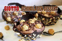 Giotto Schokoladen Dessert! Leckere Nutella Mousse! Schokoladenschale se...