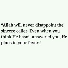 Thank you Allah. This is something we should all keep in mind