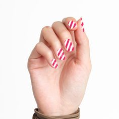 I Want Candy Holiday Nails Wraps http://tattify.com/product/i-want-candy-holiday-nails-wraps/