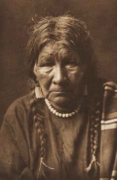 Keeper of a Medicine-Bundle - Arikara (The North American Indian, v. V. Cambridge, MA: The University Press, 1909) by Edward Sheriff Curtis from USC Digital Library