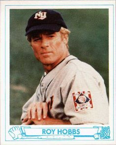 "Roy Hobbs ""The Natural"" Trading Card"