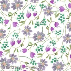 Katja Ollendorff, textile and surface pattern designer creates and sells colorful, bold and one-of-a-kind designs. Mosaic Wallpaper, Fabric Wallpaper, Wallpaper Backgrounds, Wallpapers, Wallpaper Ideas, Pretty Patterns, Flower Patterns, Beautiful Patterns, Textiles