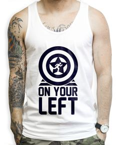 e69c3a92880739 On Your Left on a Unisex Tank Top