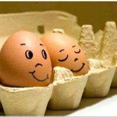 Zo pimp je ook een gekookt ei, eitje toch!