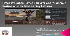 FPse #PlayStation #Games #Emulator #App for #Android Devices offer the best #Gaming Features