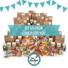 The Lunchbox | We pack, you snack. January, Lunch Box, Packing, Snacks, Bag Packaging, Appetizers, Bento Box, Treats
