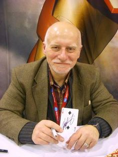 Chris Claremont - the legendary writer of fantasy stories with his most known work for decades in the hit Marvel comic book series the Uncanny X-Men.