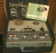 VINTAGE Sony Music System REEL TO REEL STEREO TAPE RECORDER STEREOPHONIC #Sony