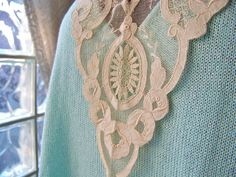 Antique Lace Collar Victorian Collar by cynthiasattic on Etsy, $45.00