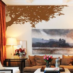 tree wall art wall stickers wall decals from amazingsticker