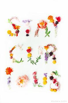 DIY Flower Artwork Printables