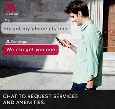 Now you can chat for services and amenities at #MarriottHotels #travelbrilliantly http://travel-brilliantly.marriott.com/our-innovations/mobile-guest-services