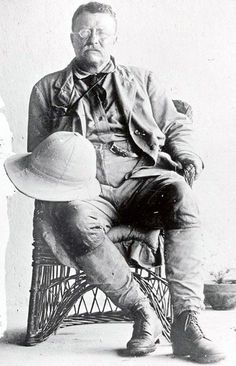 Teddy Roosevelt - opposed coal miners organizing & demanding better pay & safety requirement - USA President & outdoors man.