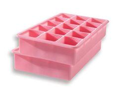 Tovolo Perfect Cube Ice Tray, Set of 2, Dark Blue:Amazon:Kitchen & Dining