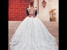 Beautiful princess lace dress with beautiful back detailing