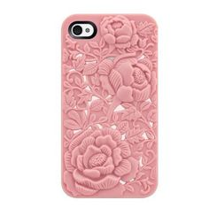 Made from silicone, available for iPhone 4/4S and 5  Please allow 15 - 25 days for delivery   (they have a purple one)