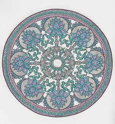 Mystical mandalas 12 done with pencils