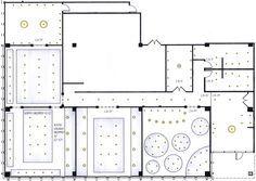ceiling plan restaurant | REFLECTED CEILING PLAN