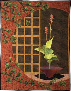 Quilt - EVOKING NATURE, Bette Rogers
