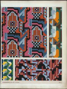 Kaleidoscope : ornements abstraits : quatre-vingt-sept motifs en vingt planches / composés par Ad. et M. P. Verneuil