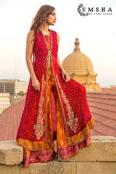 Umsha Uzma Babar Shehnai New Bridal Dress http://clothingpk.blogspot.com/2015/05/uzma-babar-shehnai-new-bridal-dress-collection-2015.html