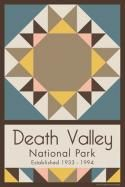 Death Valley National Park Quilt Block