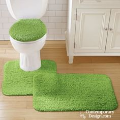 Fun bathroom rugs. The components for the bathroom may look a simple and not crucial element along the way of making a practical bathroom, however they have a main part in providing the interior with neatness and also improving  its the aesthetic.