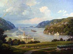 Hudson River Lithograph