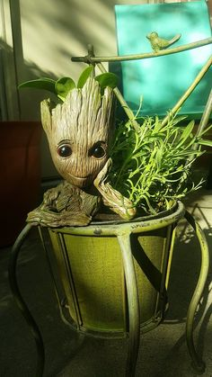 Baby groot planter by chickiedee.deviantart.com on @DeviantArt