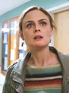 "jigsmave: """"He's my husband! Booth And Bones, Booth And Brennan, Bones Tv Series, Bones Tv Show, Fox Bones, Michaela Conlin, Seeley Booth, Temperance Brennan, Bones Quotes"