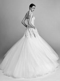 Viktor&Rolf's artistic interpretation of bridalwear.