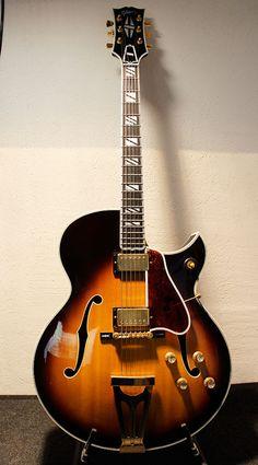 Gibson Custom Order Super 400 Florentine find it here: www.gypsyguitar.de