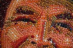 Close-up of the Reagan mosaic.