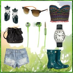 Festival Fun - Get festival ready with our super sweet Green BassBuds!