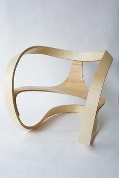 Möbius chair by Adam Raphael Markowitz