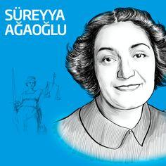 Hukukta ışığımız: Süreyya Ağaoğlu #kadınlargünü #womensday
