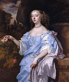 Henrietta, Countess of Rochester  by Sir Peter Lely, 1665