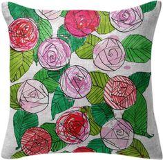 0000001P/rose pillow