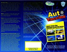 Trying to eliminate odors in any vehicle can be very frustrating, but with the Auto Vaccine, all the unwanted odors can be completely and permanently eliminated quickly, effectively and naturally.