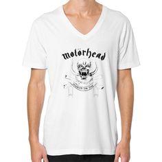 Motorhead Men's American Apparel V-Neck
