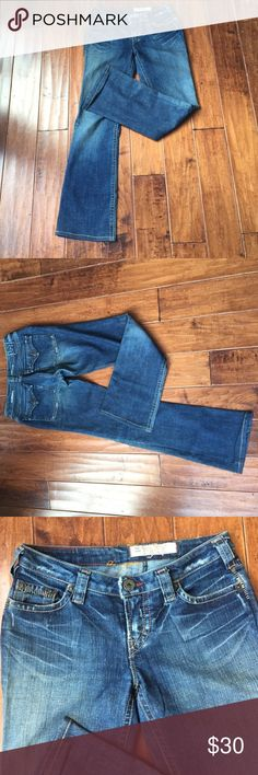 1921 Jeans *length: 34 in. (The length was shortened for my friend who is very short)  *great condition *no flaws!   offers through the offer button are encouraged!!  ask me to bundle for great deals! 1921 Jeans Boot Cut