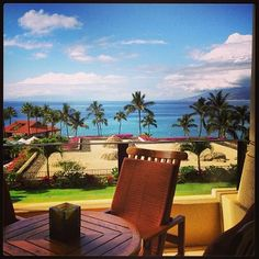 The view from an Ocean Front Suite. Talk about the Suite Life! @Four Seasons Resort Maui contact me to book - www.lushlife.ca sheila.gh@vision2000.ca