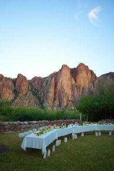 Outdoor Rustic Wedding In Arizona..Gorgeous!