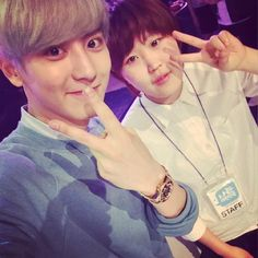 [UPDATE]150516 wldls93 Instagram Update - with Chanyeol   -iheartkris